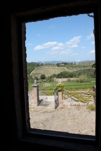 Vue du Castello di Bossi