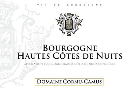 Etiquette Cornu-Camus