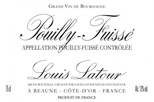 Etiquette Louis Latour