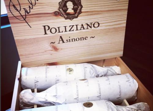 Vins du Domaine Poliziano à Montepulciano en Toscane