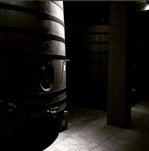 Chai du Domaine Poliziano à Montepulciano en Toscane