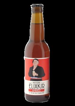 Brasserie Elixkir Le péché du Chanoine Bière Ambrée Find A Bottle