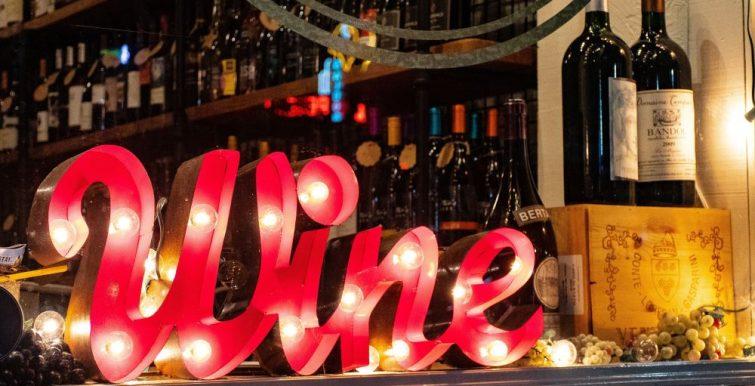 Wine Affiche boutique
