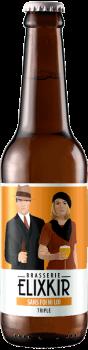 Bière Artisanale Sans Foi Ni Loi Triple Brasserie Elixkir