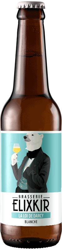 Bière Artisanale Blanche La loi de Darcy Brasserie Elixkir
