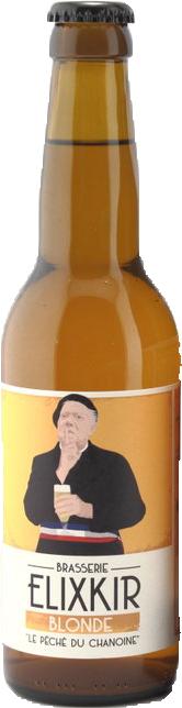 Brasserie Elixkir Le péché du Chanoine Bière Blonde Find A Bottle