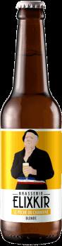 Bière Artisanale Blonde Peché du Chanoine Brasserie Elixkir