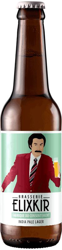 Bière Artisanale La fabrique du consentement India Pale Lager Brasserie Elixkir