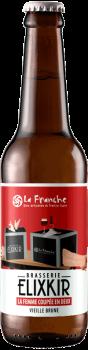 Bière Artisanale Vieille Brune La Femme Coupée en Deux Brasserie Elixkir