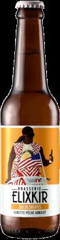 Bière Artisanale Jeu de Drupes Surette Peche Abricot Brasserie Elixkir