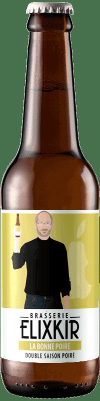 Bière Artisanale Double Saison La Bonne Poire Brasserie Elixkir
