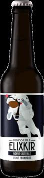 Bière Artisanale Stout Framboie Noire Sidérale Brasserie Elixkir