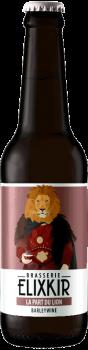 Bière Artisanale La Part du Lion Barley Wine Brasserie Elixkir