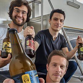 L'équipe de la brasserie Hoppy Road Find A Bottle