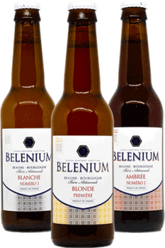 Coffret de bières artisanales Brasserie Belenium