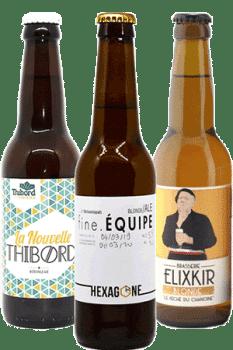 Coffret découverte de bières artisanales