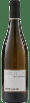 Bouteille de vin Saint Joseph Blanc Dimanche à Lima de Julien Cecillon