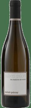 Bouteille de vins Saint Péray Les Maisons de Victor du Domaine Julien Pilon