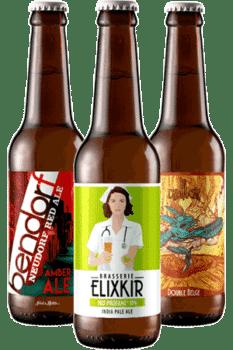 Coffret découverte de bières artisanales françaises