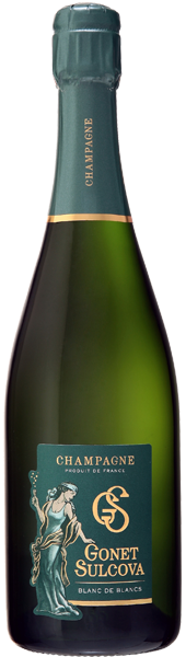 Champagne Blanc de Blancs Brut Gonet Sulcova
