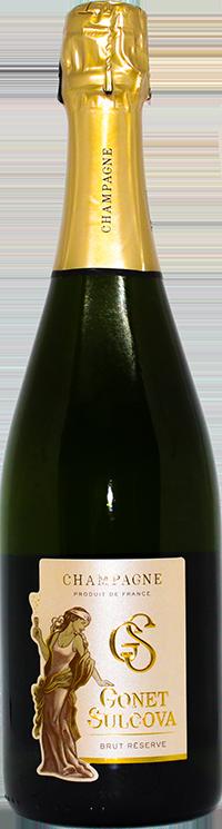 Champagne Brut Réserve Gonet Sulcova
