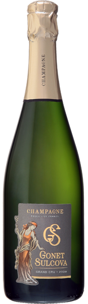 Champagne Blanc de Blancs grand cru 2009 Gonet Sulcova