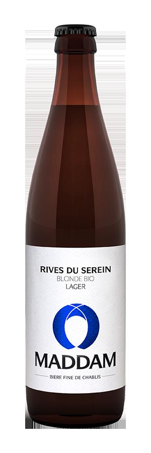 Bouteille de bière Rives du Serein Brasserie Maddam
