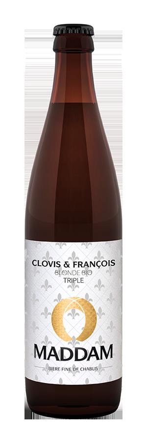 Bouteille de bière Clovis et François Brasserie Maddam