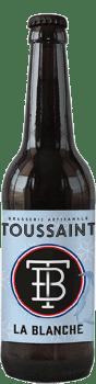 bière La Blanche brasserie Toussaint