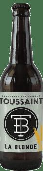 bière La Blonde brasserie Toussaint