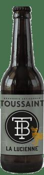 bière Lucienne brasserie Toussaint
