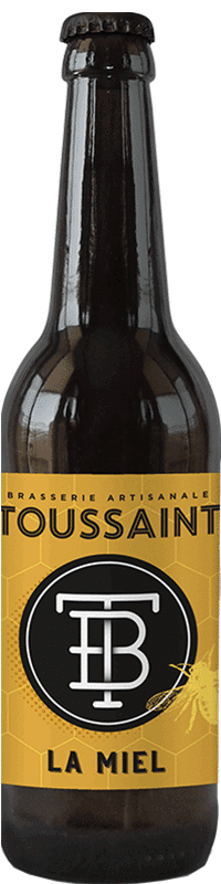 bière La Miel brasserie Toussaint
