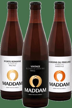 Coffret de Bouteilles de bières de la Brasserie Maddam