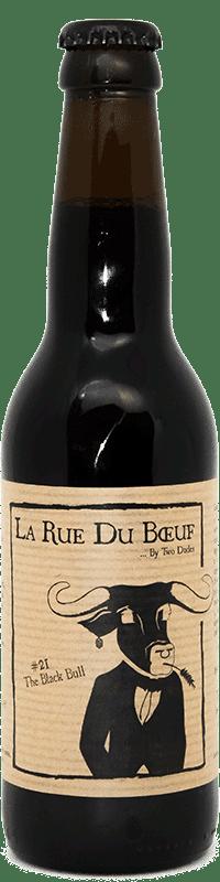 Bouteille de bière Black Bull Brasserie Two Dudes