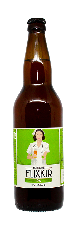 Bière IPA IBU Profane Verjus brasserie Elixkir