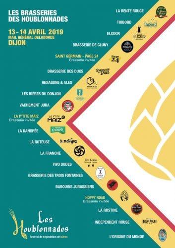 Les brasseries les Houblonnades 2019