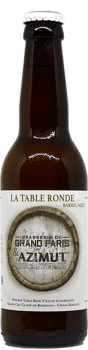 BOUTEILLE TABLE RONDE BRASSERIE DU GRAND PARIS AZIMUT