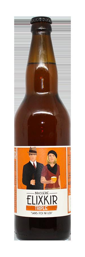 Bière triple brasserie Elixkir