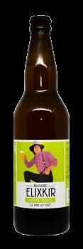 Bière Saison Verjus brasserie Elixkir