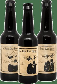 Bouteilles de bières de la Brasserie Two Dudes