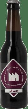 Bouteille de bière La Brune Brasserie La Montreuilloise
