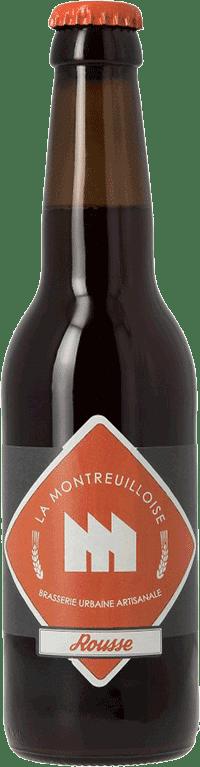 Bouteille de bière La Rousse Brasserie La Montreuilloise
