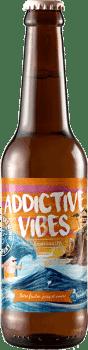 Bouteille de bière Addictive Vibes Brasserie Piggy Brewing Company