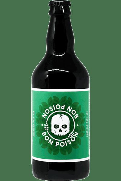 Bouteille de bière American Pale AleBon Poison