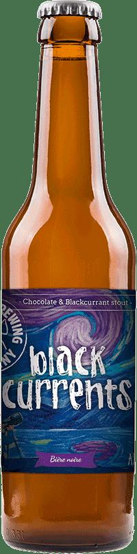 Bouteille de bière black currents Brasserie Piggy Brewing Company