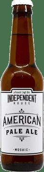 Bouteille de bière American Pale Ale Brasserie Independent House