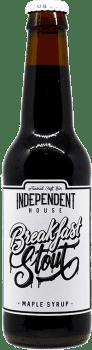 Bouteille de bière Breakfast Stout Brasserie Independent House