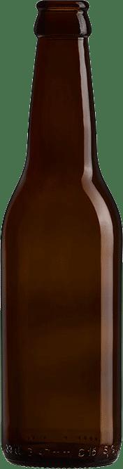 Bouteille de bière vide