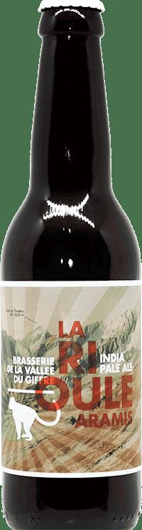 Bouteille de bière Rioule Aramis Brasserie de la vallée du Giffre
