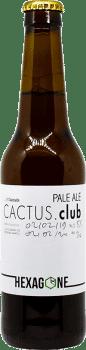 Bouteille de bière Cactus Club brasserie Hexagone Ales